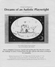 Dreams of An Autistic Playwright