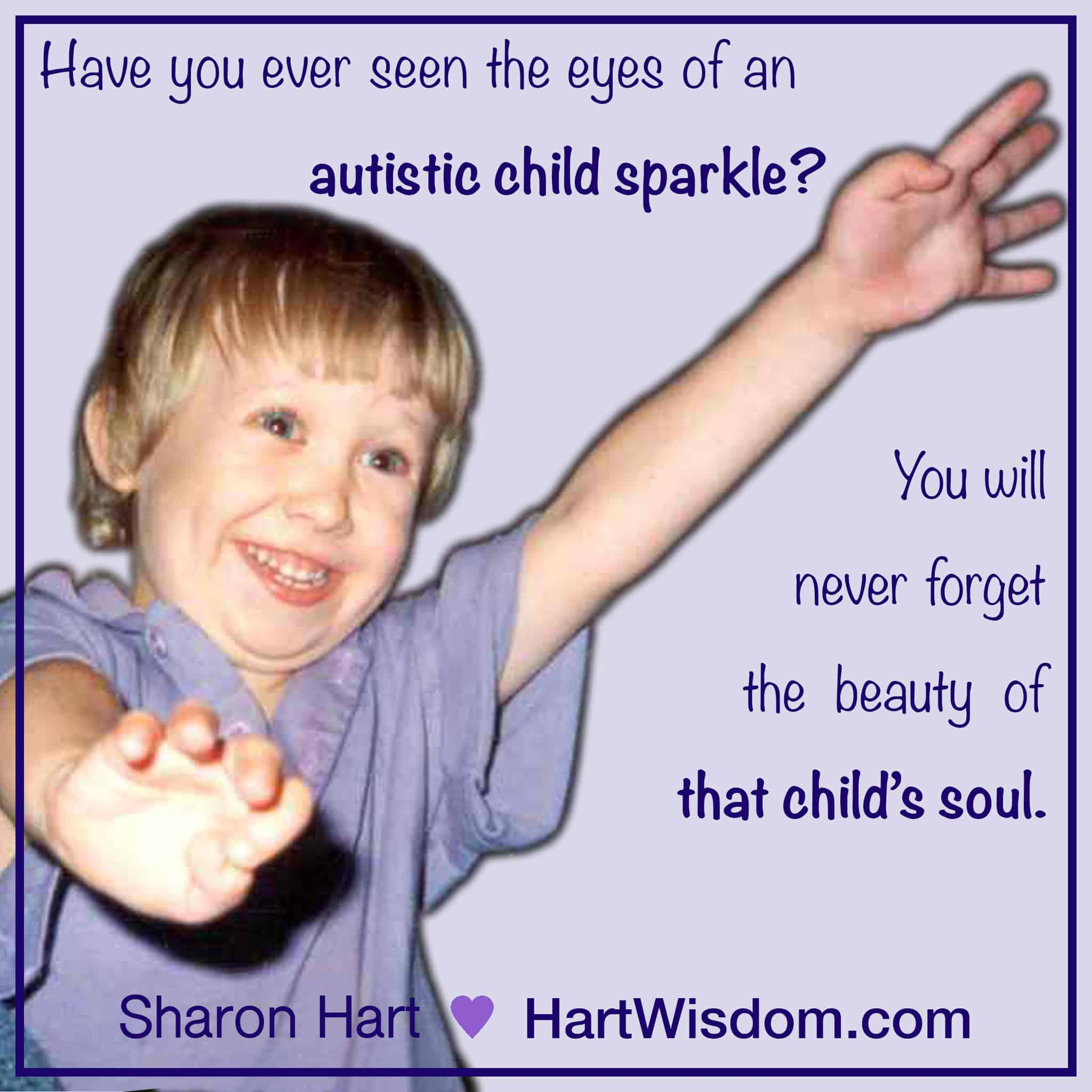 Autistic Child Sparkle