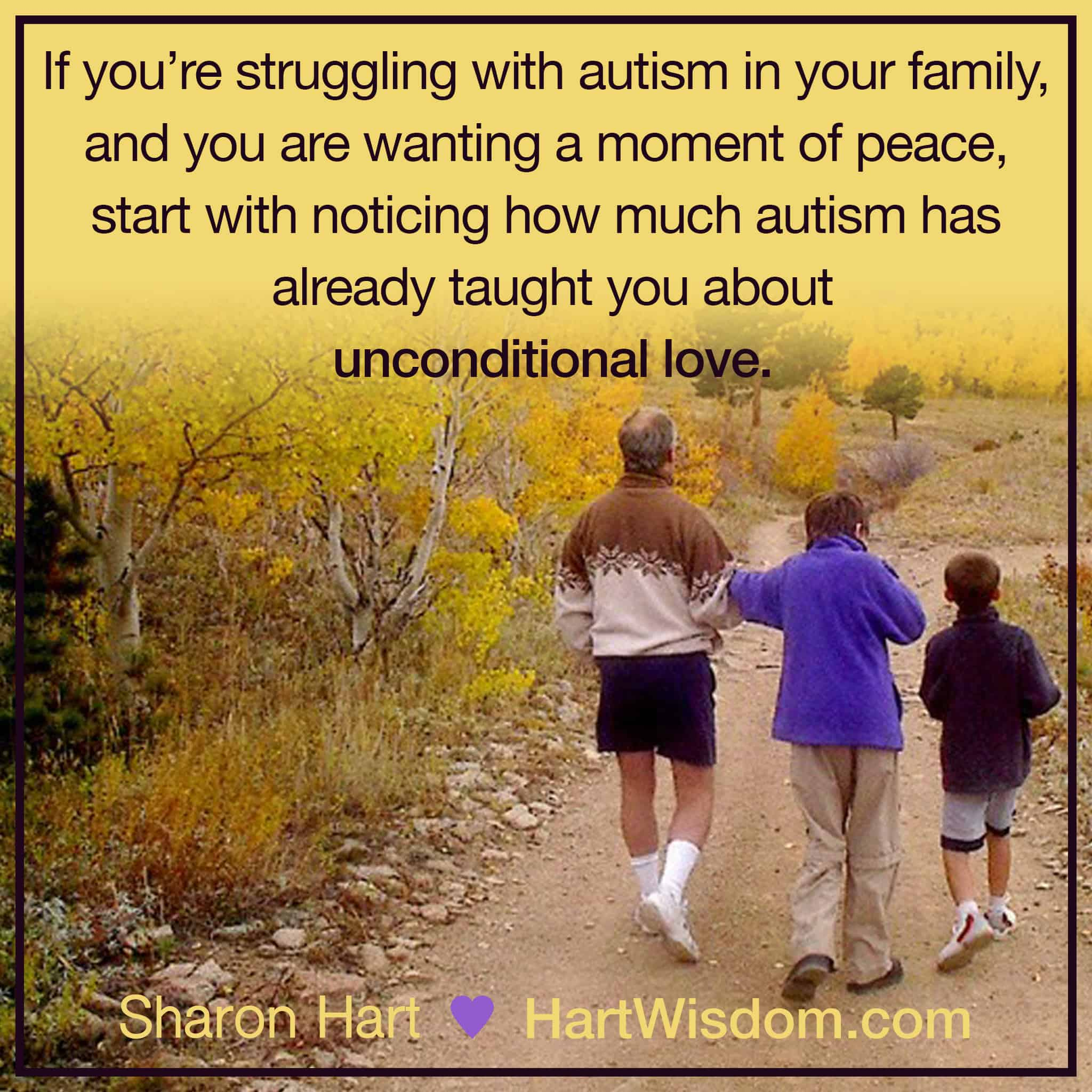 Sharon Hart Quotes Autism 2