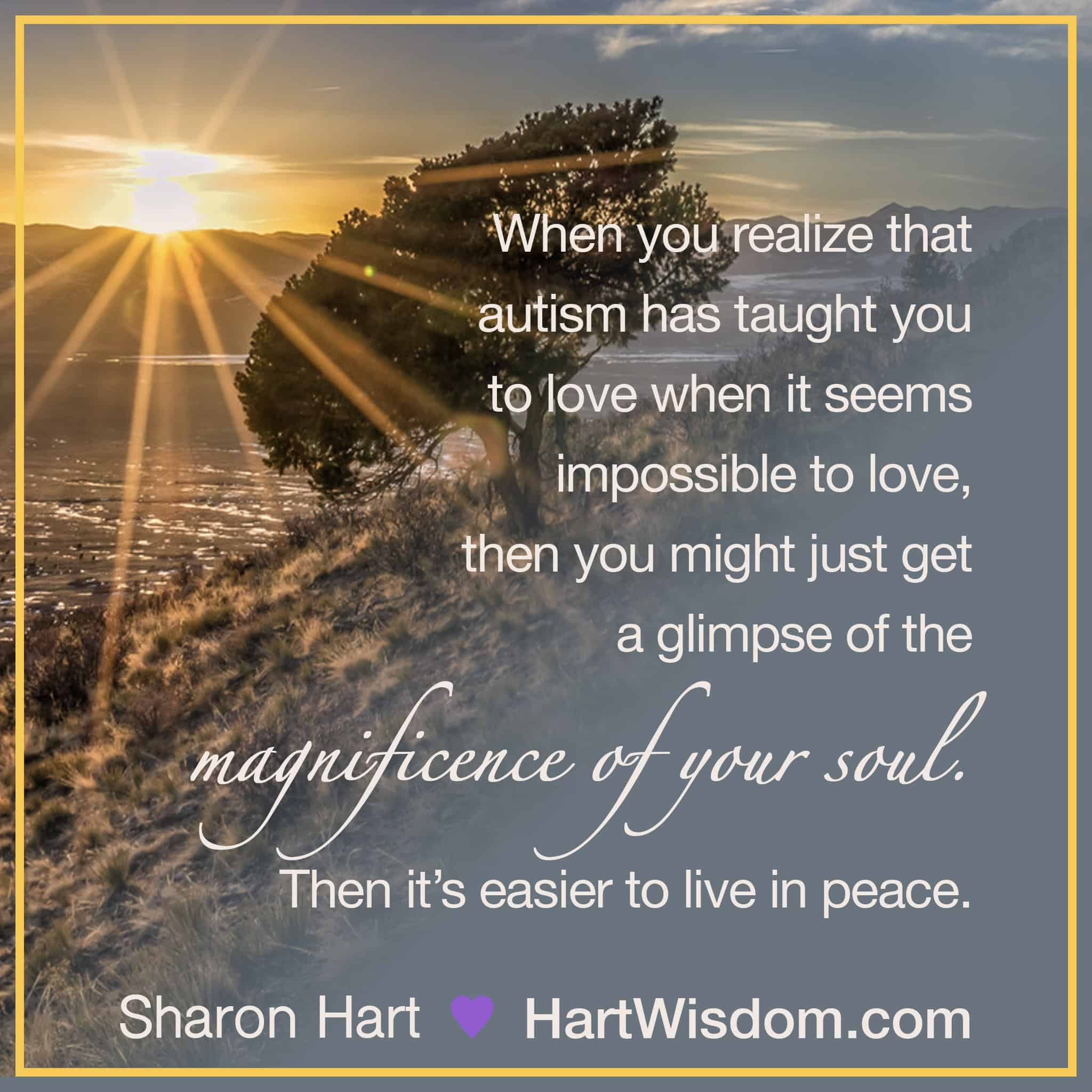 Sharon Hart Quotes Autism