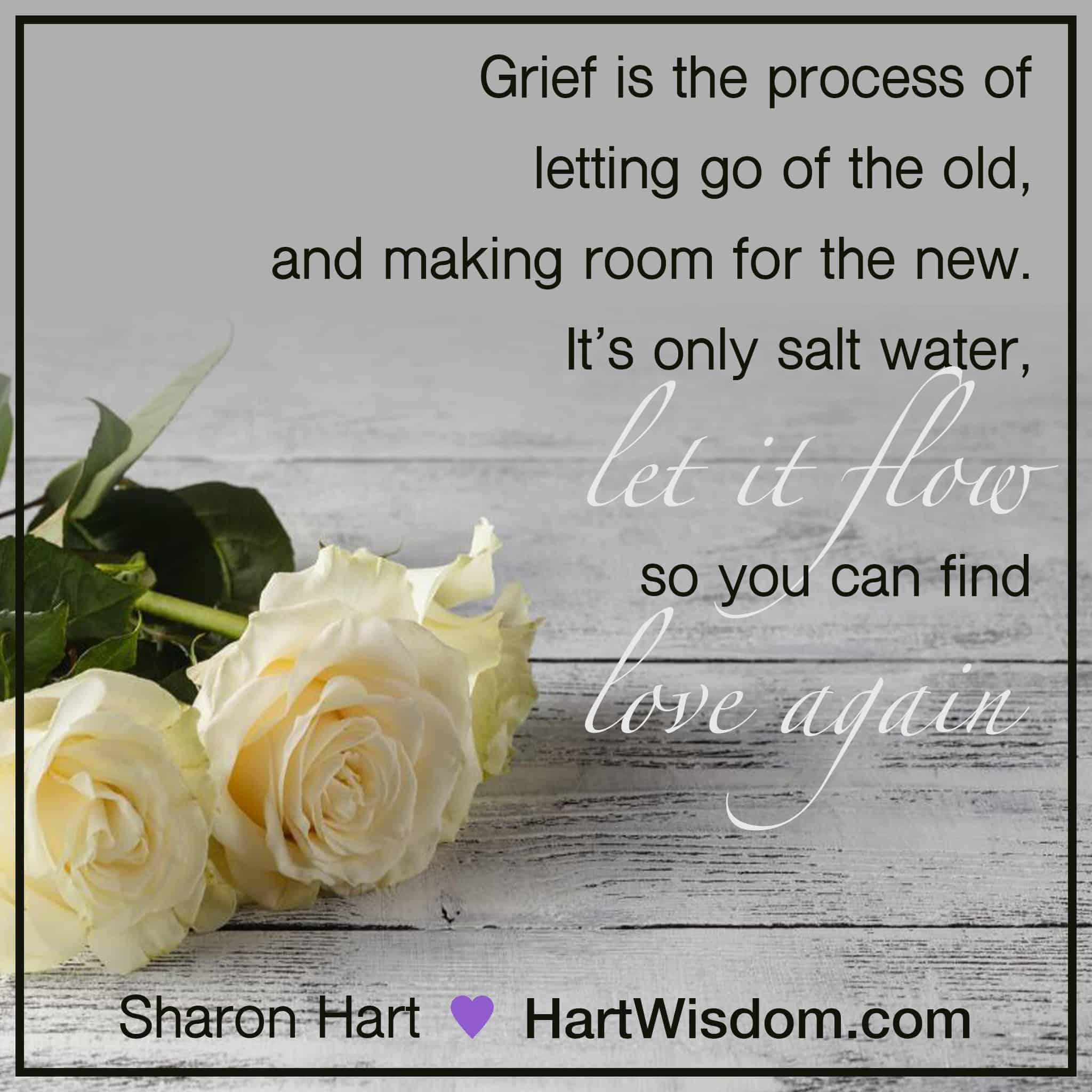 Sharon Hart Quotes Grief