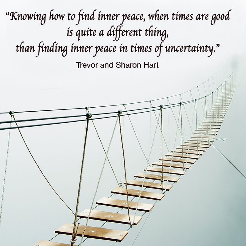 knowing how to find inner peace bridge