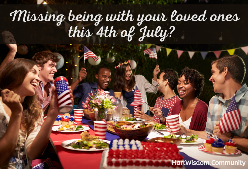 Missing being with your loved ones on the 4th of July?